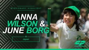 Ann Wilson and June Borg