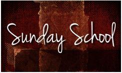 Sunday School 11-2017