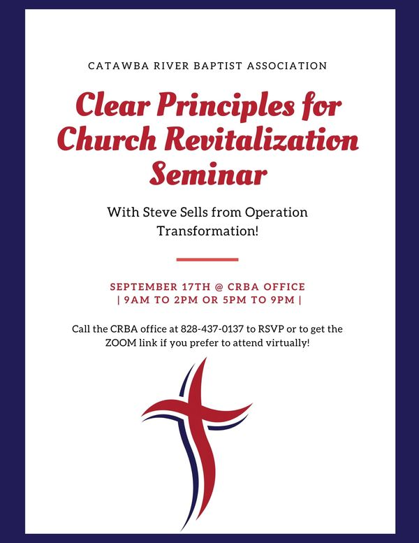 Clear Principles for Church Revital Flyer