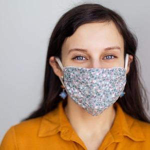 Women in Face Mask 2
