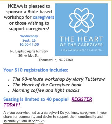 NC Caregivers Workshop