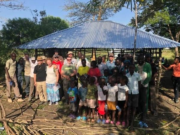 Kenya Photo with kids 2