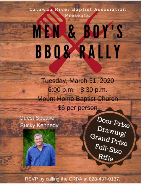 Men Boys BBQ Rally 2020