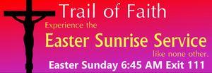 Trail of Faith Sunrise Service 2018
