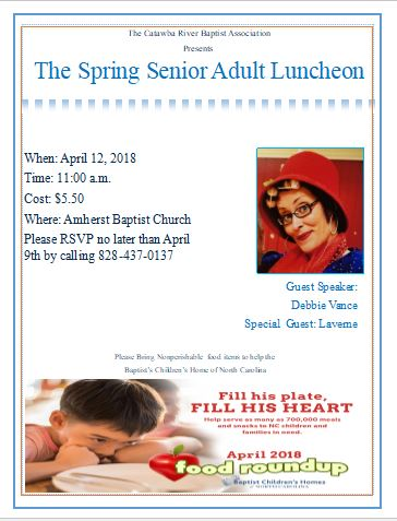Spring Luncheon 2018