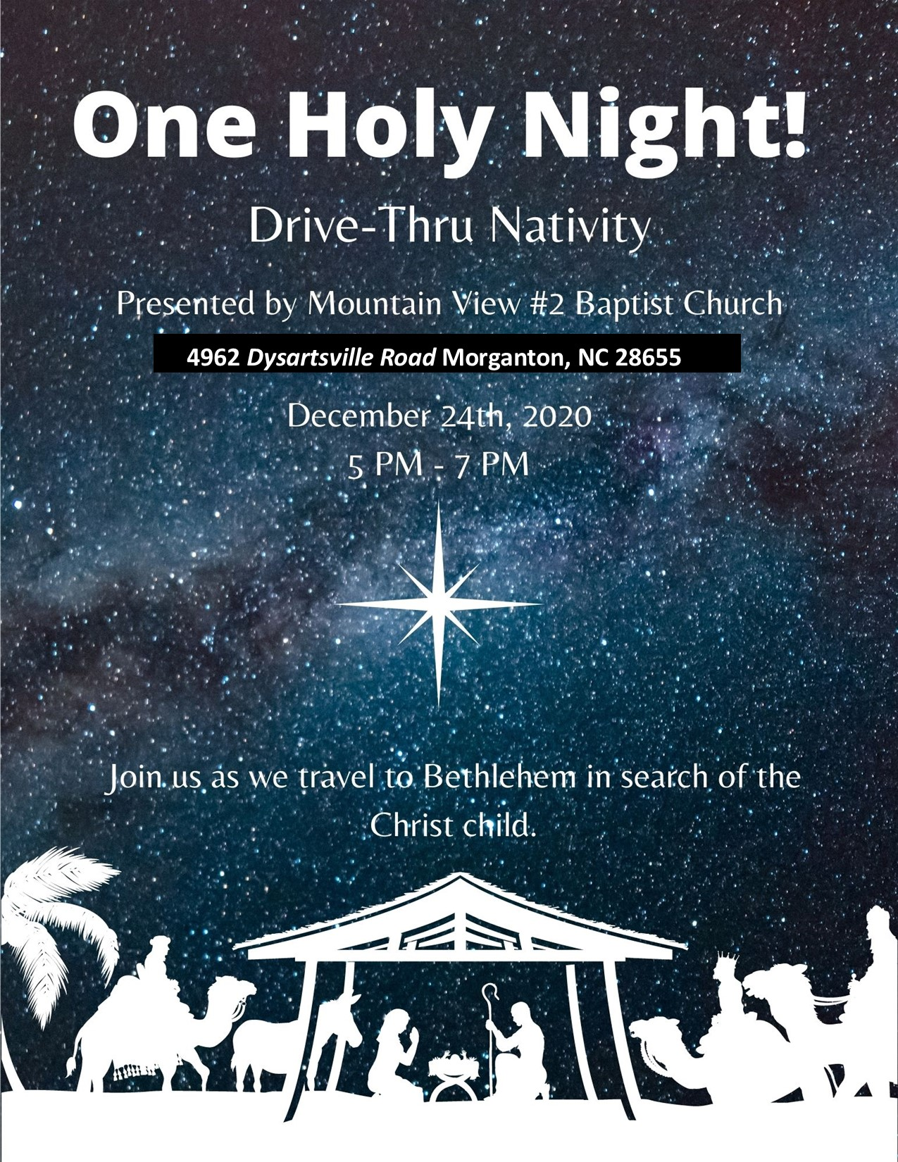 Mt.ViewOneHolyNight2020