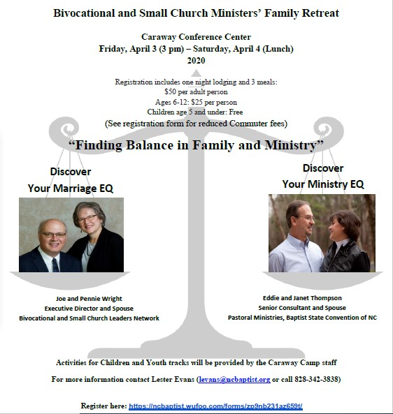 Bivocational Ministers Flyer