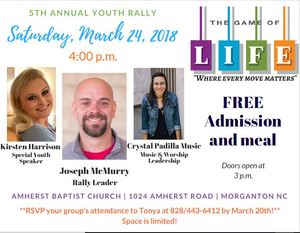 Amherst Youth Rally